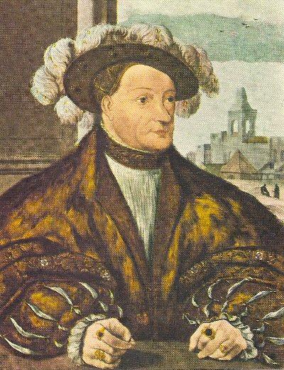 Karel van Egmond Hertog van Gelre. 1492 - 1538 Eigenaar Geldersche toren