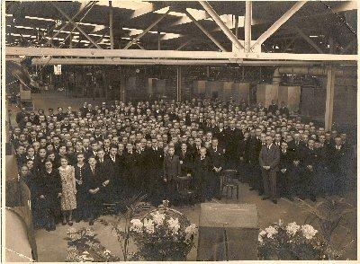 1941  Huldiging Jubilarissen in de Branderij