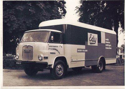 Jaren \'60   Expeditiebedrijf  -  H.Harmsen & Zn