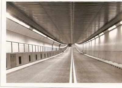 1968    IJ - tunnel te Amsterdam