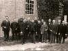 1918  Kerkbestuur   v.l.n.r.: A.Lendering, J.Emperpoll, T.Nustelder,D.Jansen, W.Klaassen, J.Zandbergen, B.Harmsen, H.Gerbrands, F.Burgers, H.J.Hummelman, G.Gerbrands, J.Sanders, G.Zonnenberg, ....Boesveld.