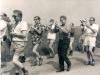 1970  v.l.n.r.: Herman Wassink, Carl Eskes, Appie Kl.Gotink, Gerrit Hilverdink, Kees Houwen, Piet Key