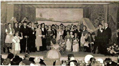 "1950    Operette  \""Malle Geert \"" zaal \'De Sluis \"""