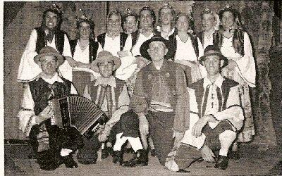 """1953    Operette  \""""Dochter van de Molenaar \"""""""